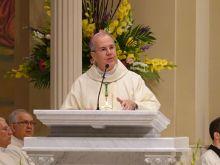 Bishop Joseph Bambera of Scranton celebrating the 2019 Chrism Mass. Courtesy photo, Diocese of Scranton.