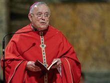 November 27, 2019: Archbishop Charles Chaput in Rome for his final ad limina visit as Archbishop of Philadelphia.
