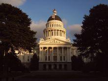 The California capitol.