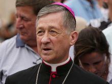 Cardinal Blase Cupich.