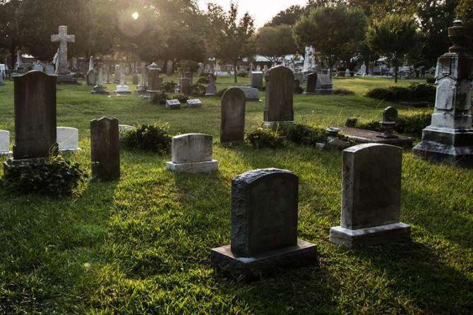 Cemetery Credit Sherry V Smith via wwwshutterstockcom CNA 11 2 15