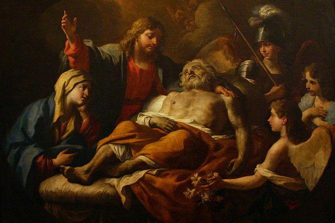 Death of St Joseph by Paolo de Matteis Credit  Jose Luiz Bernardes Ribeiro CC BY SA 40 CNA