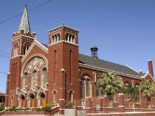 St. Patrick's Cathedral in El Paso.