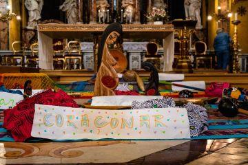 Female figure synod 2019 Credit Anthony Johnson CNA