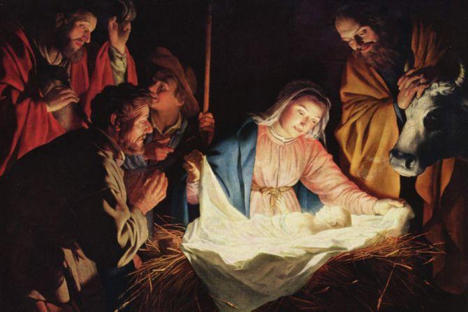 Nativity Arist Gerard van Honthorst Public Domain CNA 12 17 15