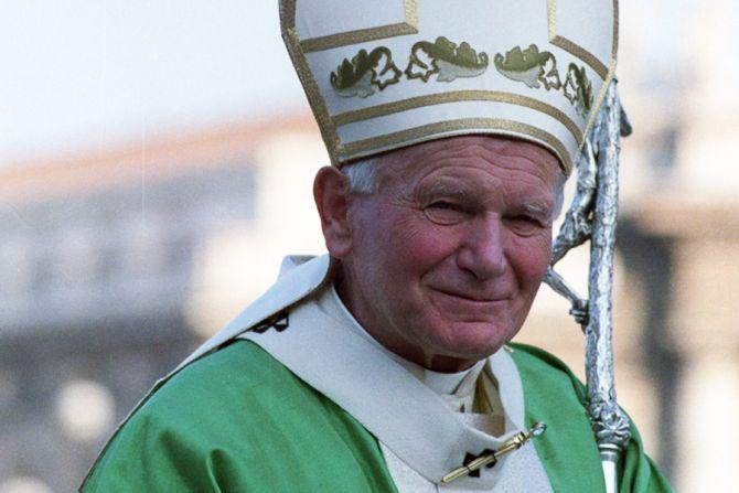 Pope John Paul II circa 1991 Credit   LOsservatore Romano CNA 6 16 15