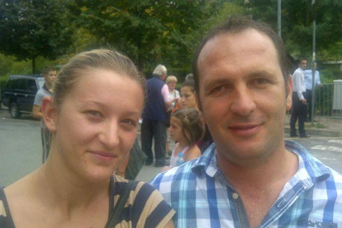 Valentin and Vanessa of Kosovo Credit Andrea Gagliarducci CNA