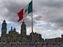 Zocalo de Mexico.
