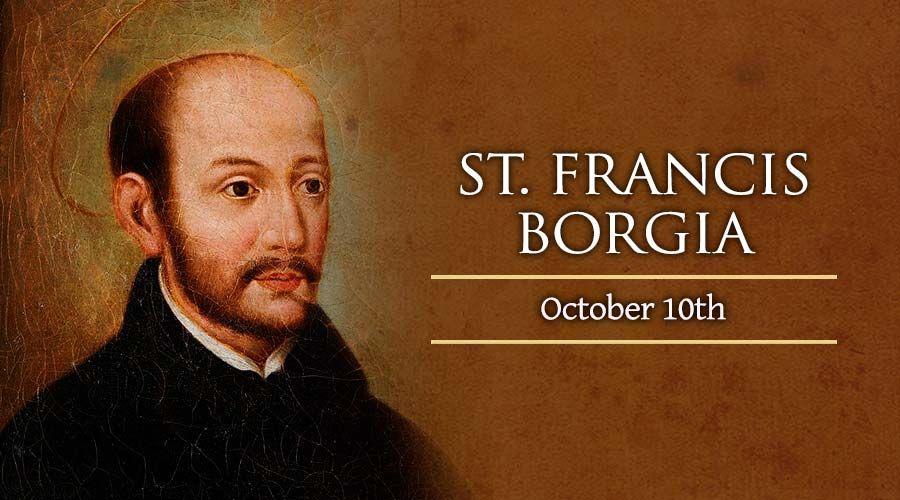 St. Francis Borgia