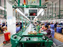 Factory in Jiangxi province, China.